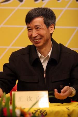 搜狐独家网络支持澳特来围甲联赛 王汝南就座