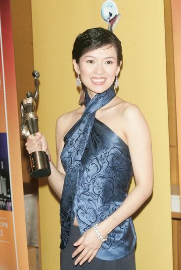 图文:第24届香港金像奖颁现场--章子怡