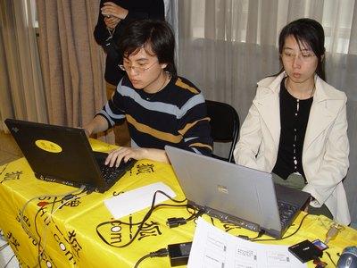 图:搜狐直播人员在现场