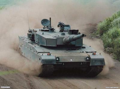 中国 日本 主战坦克/