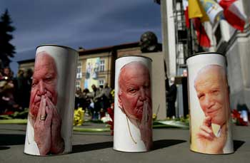 World mourns the late Pope John Paul II