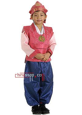 传统韩服——男孩版 粗线条的独特品位(组图)图片
