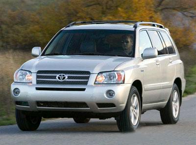 """混合动力SUV""""Highlander Hybrid""""-丰田Highlander Hybrid将在美国上"""