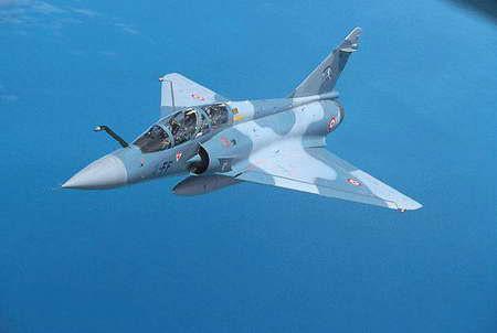 印度空军欲购卡达尔二手幻影2000-5战斗机(图