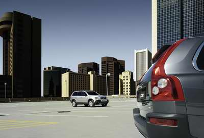 Volvo时尚科技引领上海车展 XC90 V8上市