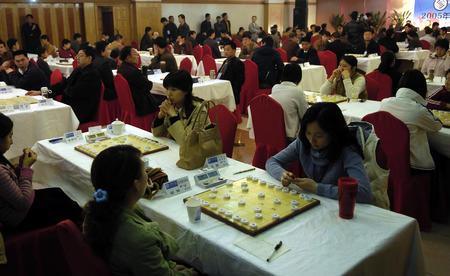 图文:全国象棋团体锦标赛图片