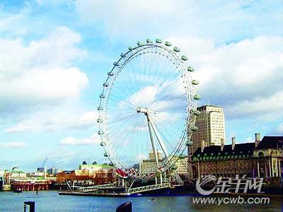伦敦眼:世界最佳景点[图]