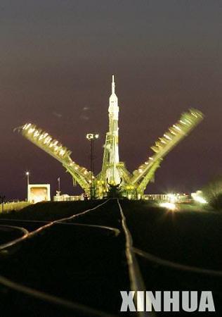 俄罗斯联盟号宇宙飞船升空前往国际空间站(图)