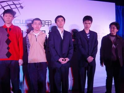 图文:澳特来围甲联赛 四川骄子队队员合影