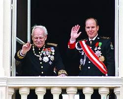 成明君/在兰尼埃三世的葬礼上,来自欧洲各国的王室成员和政要与老国王...