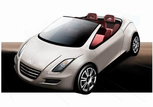 奇瑞跑车M14将亮相2005上海国际车展(图)