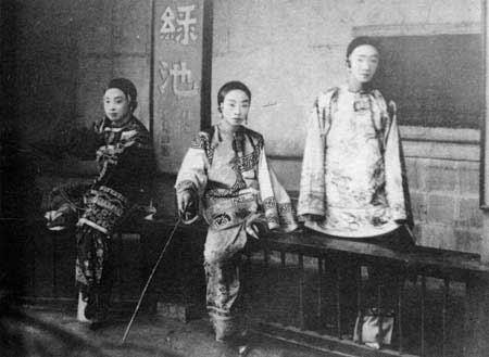 清朝名妓老照片民国京城四大美女民国老照片北京老