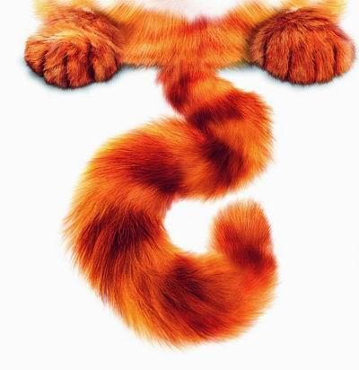 [美图]史上最著名的一只猫―加菲猫