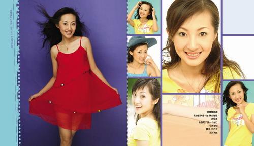孙一卜2004年超级女声台湾名模雪碧人体超级女声孙一