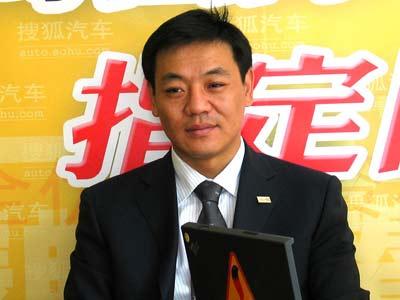 一汽大众市场营销部部长王枫做客搜狐