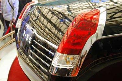 众人热烈期待 红旗概念新车亮相上海车展高清图片