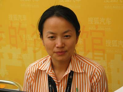 上海通用公共事务传播总监任剑琼做客搜狐