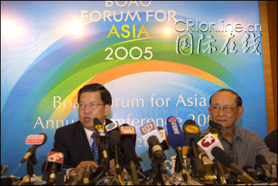 图:博鳌亚洲论坛秘书长龙永图