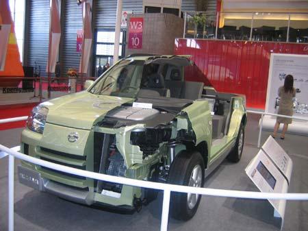 抢先曝光:日产奇骏燃料电池车亮相车展