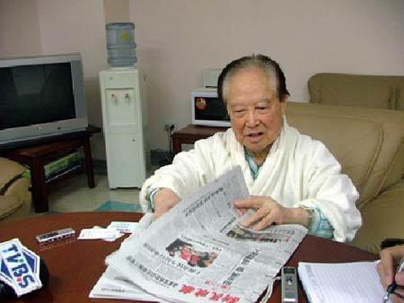 连战访上海将会汪道涵 各地均是高规格接待(图)