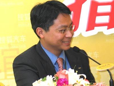 宾利中国总经理郑飚作客搜狐直播室