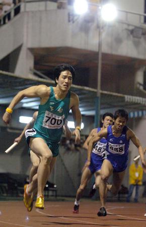 [体育](3)田径�D�D刘翔亮相全国田径大奖赛