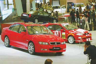多品牌车型…… 上海通用组合拳打天下