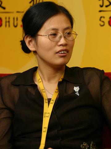 图文:搜狐CBA报道组谈总决赛 副主编顾先冰