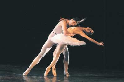 舞姬 芭蕾舞剧用上电影手法