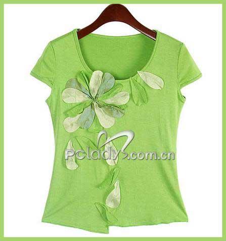 浅绿色上衣搭配裤子