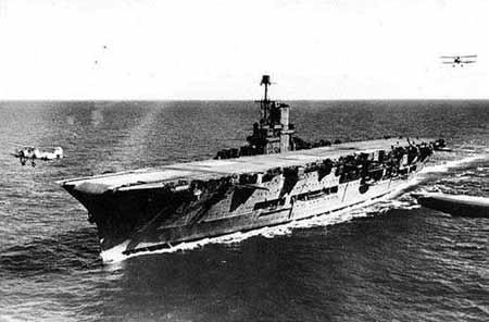 """二战英国皇家海军航空母舰""""皇家方舟""""号"""