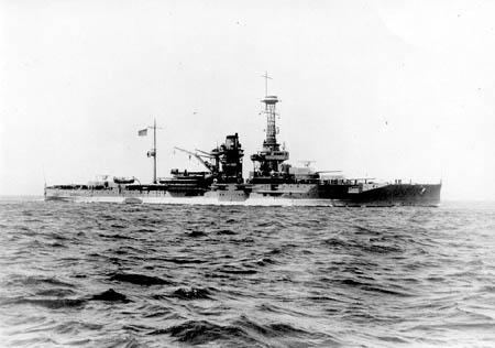 美军佛罗里达级战列舰(图)