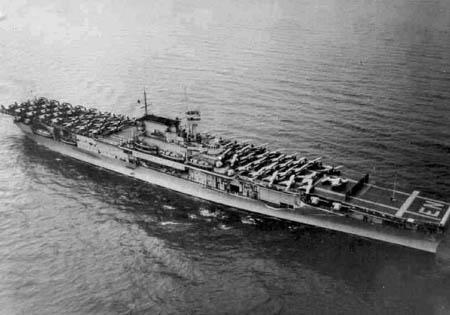 美军约克城级航空母舰(图)