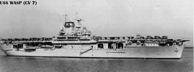 美军舰队航空母舰黄蜂号(图)