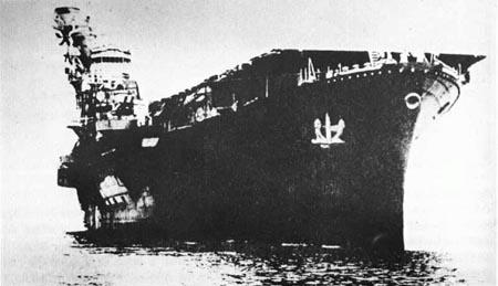 日军飞鹰级航空母舰(图)