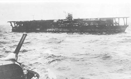 """日军重型航空母舰""""加贺""""号(图)"""