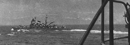 日军利根级重型巡洋舰(图)