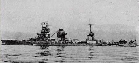 日军伊势级战列舰(图)