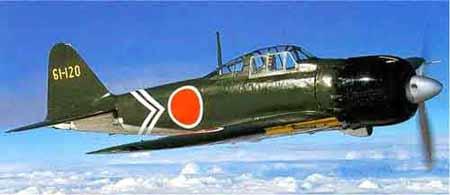 日本的零式战斗机(图)
