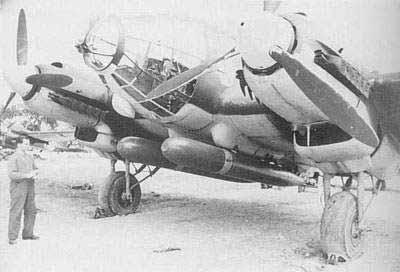 德国亨克尔He111轰炸机(图)