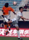 图文:天津3-1胜卫冕冠军 于光与吉马争顶