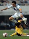 图文:天津3-1胜卫冕冠军 于根伟突破李雷雷