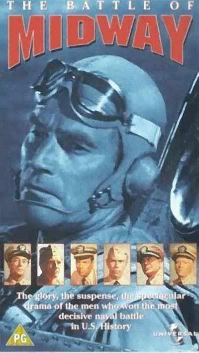 二战电影经典海报:《中途岛战役》