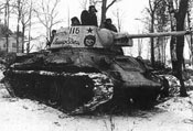 苏军T-34坦克