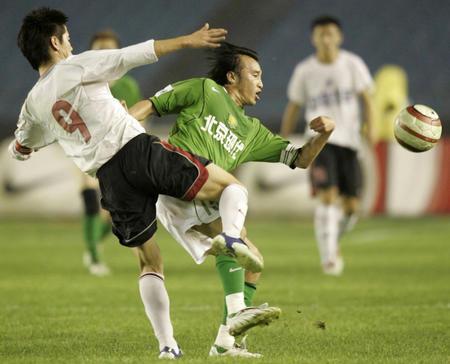 图文:北京现代0-0战平辽宁