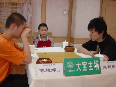 图文:围甲联赛第三轮 年轻棋手成为围甲主角
