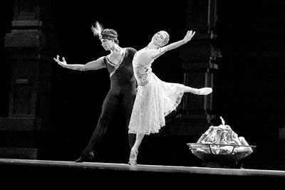 比利时芭蕾舞剧 舞姬 天桥演