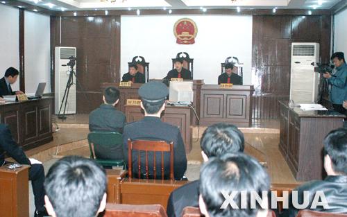 挪用巨额公款赌博的蔡豪文被判17年(组图)