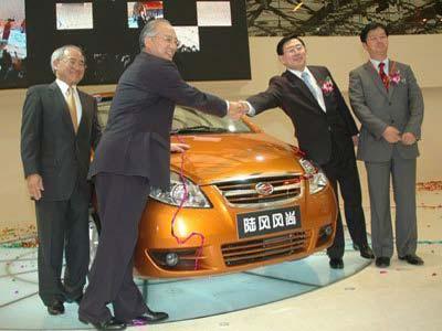 陆风风尚MPV很快投产 后年推出轿车(图)