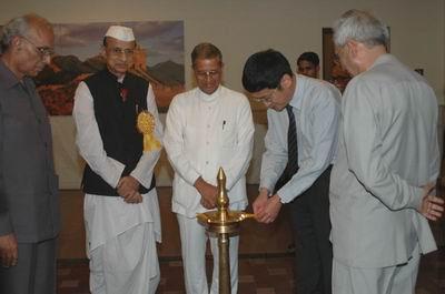 """""""把目光投向中国""""图片展在印度开展"""